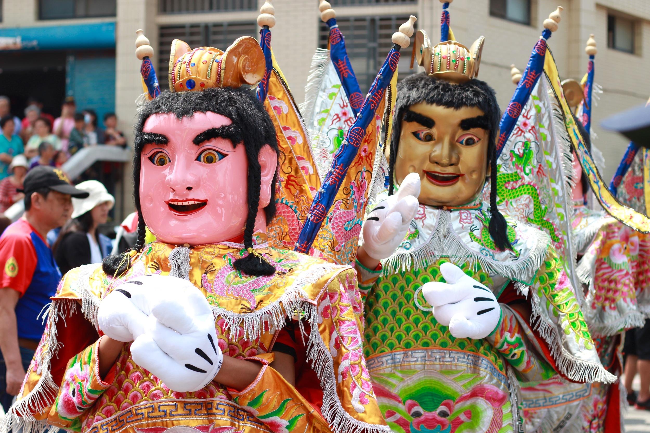 Kinmen's biggest festival, the Cheng Huang Island God Parade