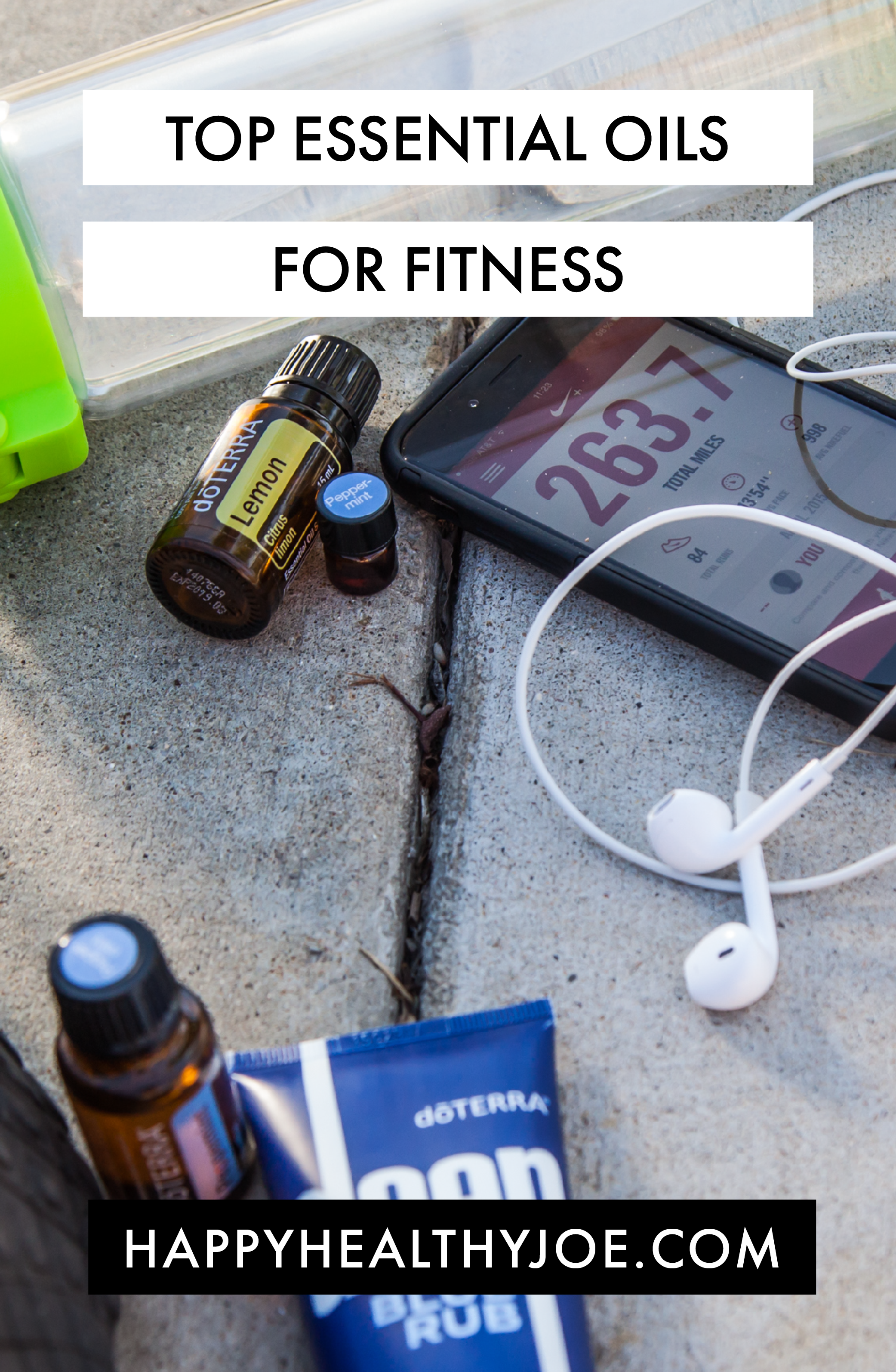 The Top 3 Essential Oils for Fitness