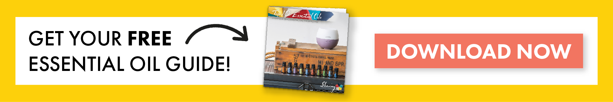 Get Your Free Top 10 doTERRA Essential oil Guide