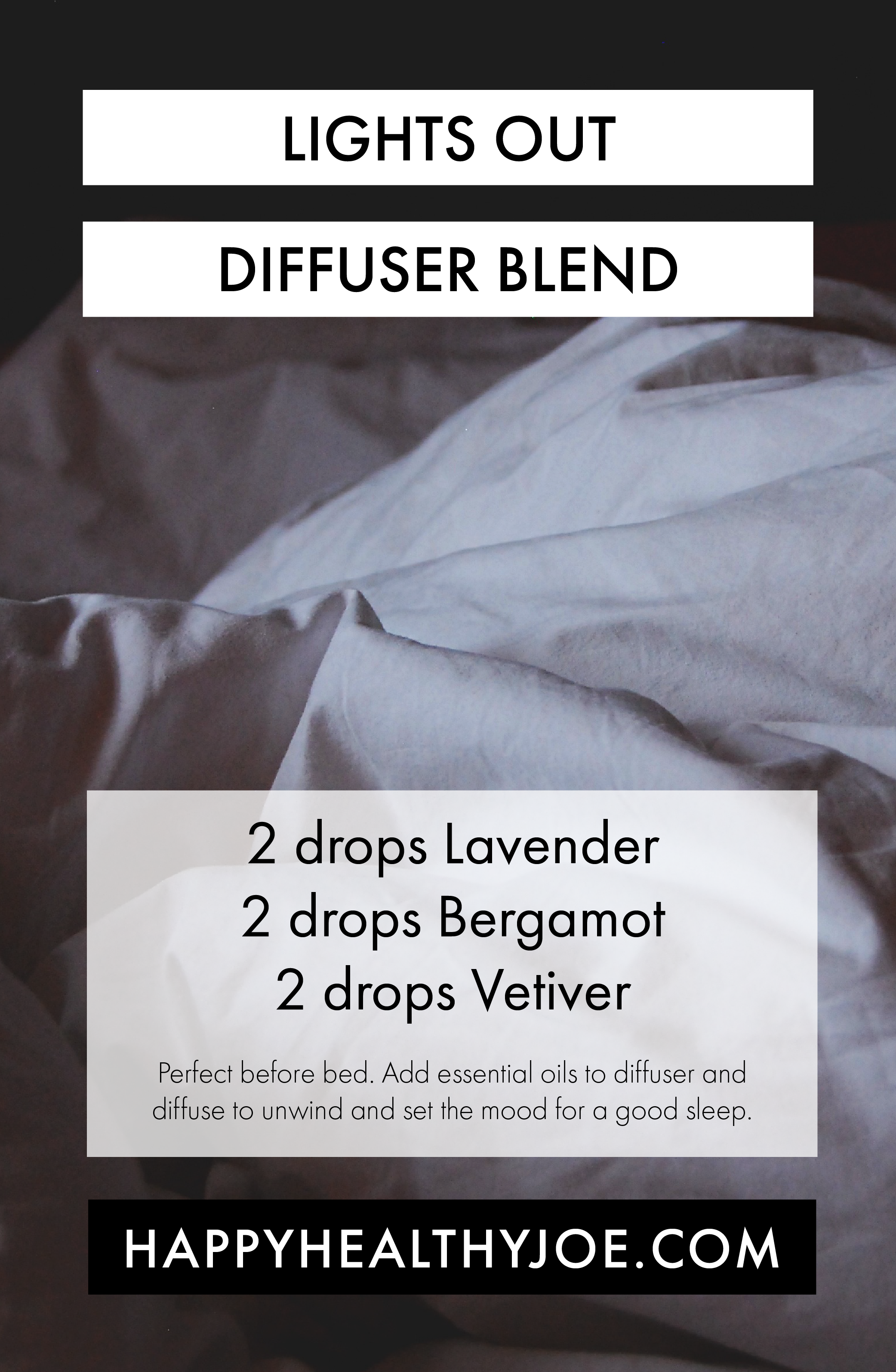 Sleep Well Tonight With This doTERRA Essential Oil Diffuser Blend Happy Healthy Joe Integrative Health Coach