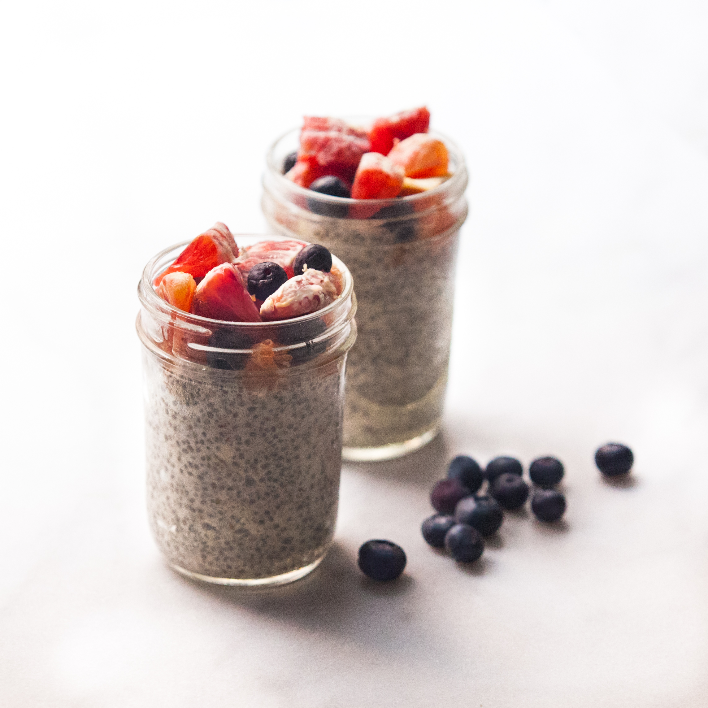 Cinnamon Grass Fed Collagen Protein Chia Seed Pudding