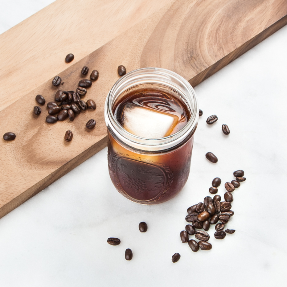 Recipe: Immune-Boosting Cold Brew Coffee Cubes with doTERRA On Guard Essential Oil