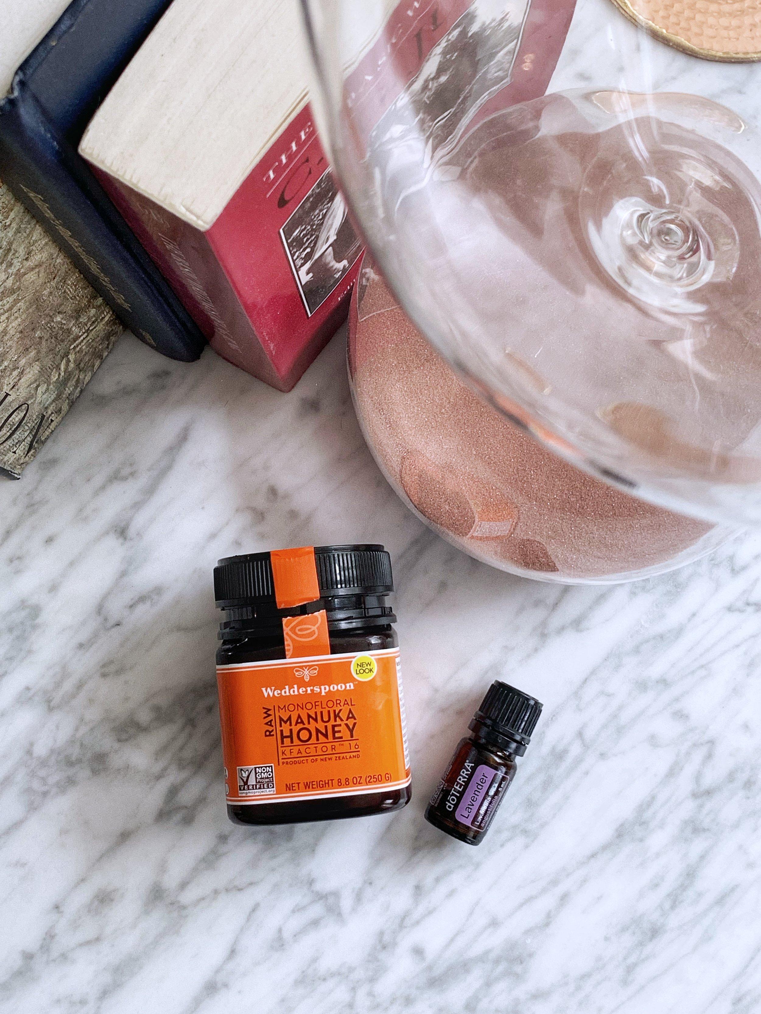 Raw Lavender Honey Cashew Milk Recipe