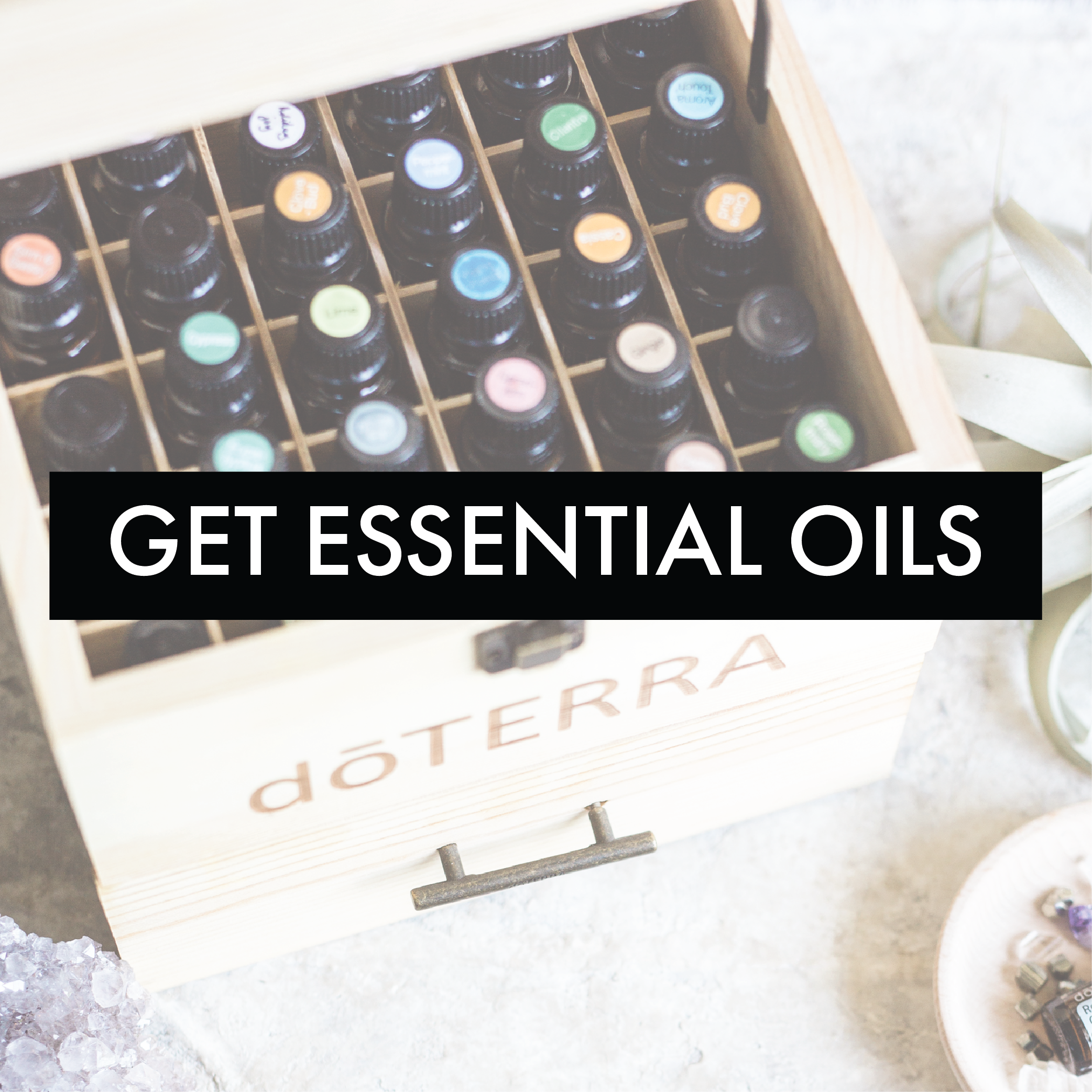 GET doTERRA ESSENTIAL OILS
