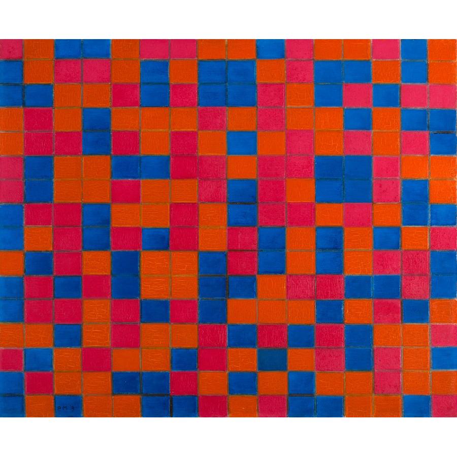 compositionwithgrid8-checkerboardcompositionwithdarkcolours-1919-benmauch.jpg