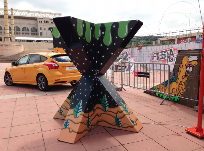 Pat Milbery Art_X-Games Interactive X for Ford Motor Company_Barecelona Spain .png
