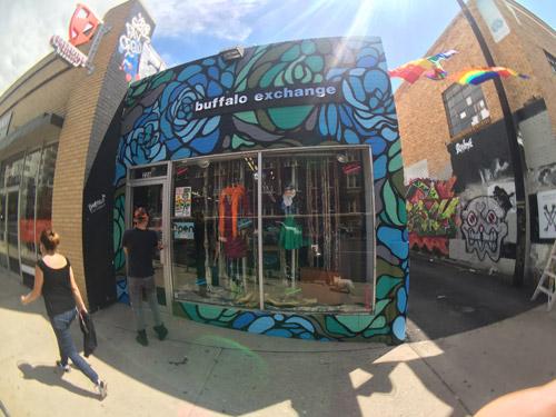 So-Gnar x Buffalo Exchange Mural 2016