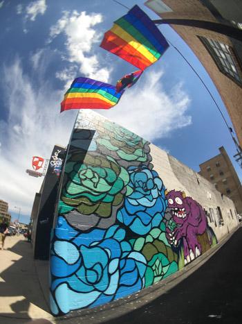 So-Gnar x Buffalo Exchange Mural
