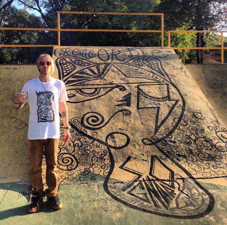 Pat-Milbery_SXSW_Street-Art_Mural_Black-and-White_Skate-Ramp_Create-or-Die.jpg