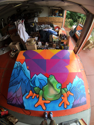 Pat-Milbery_Indoor-Mural_Frog_Installation_Color_Butterfly.jpg