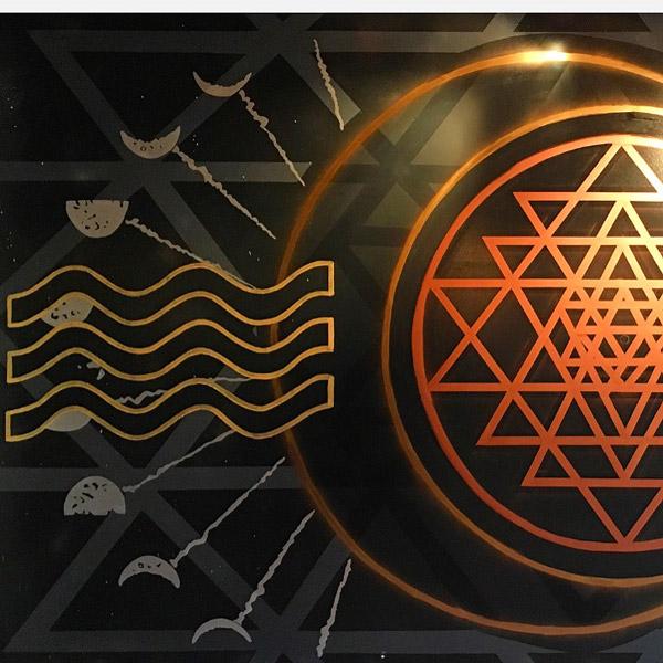Pat-Milbery_Anatomy-Redefined_Indoor-Mural_Shri-Yantra_Moon_Stars_Sound-Waves.jpg
