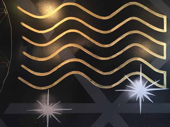 Pat-Milbery_Anatomy-Redefined_Indoor-Mural_Sound-Waves_Close-Up_Stars_Moon_Gold.jpg
