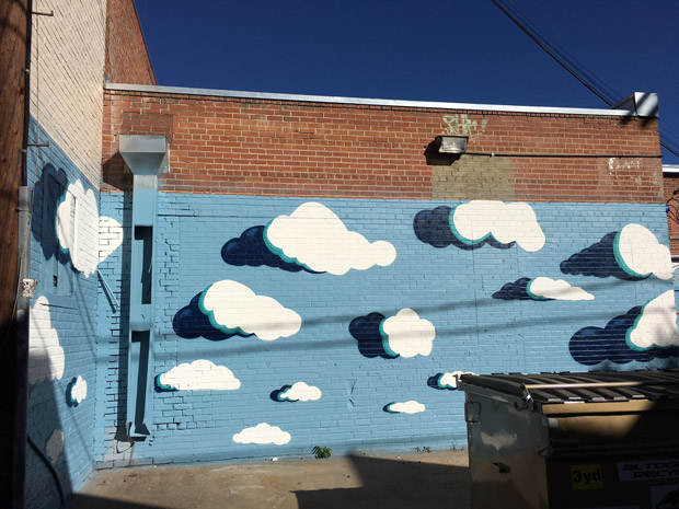 Pat-Milbery_Pat-McKinney_Buffalo-Exchange-Annex_Alley-Mural_Clouds_Dumpster-View.jpg