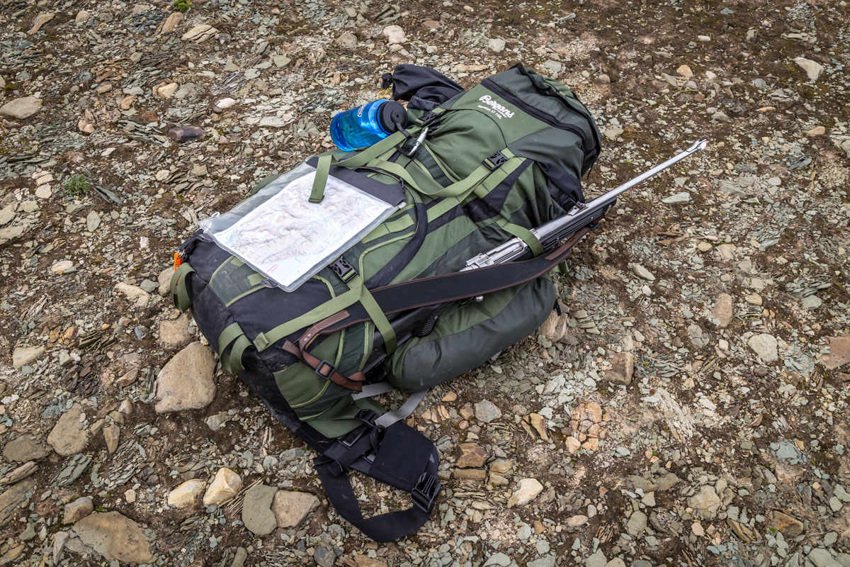Thanks to my friend Kai in Bjørkelangen, he kindly loaned me his 110L pack. There's no way I could have done the trip without it!