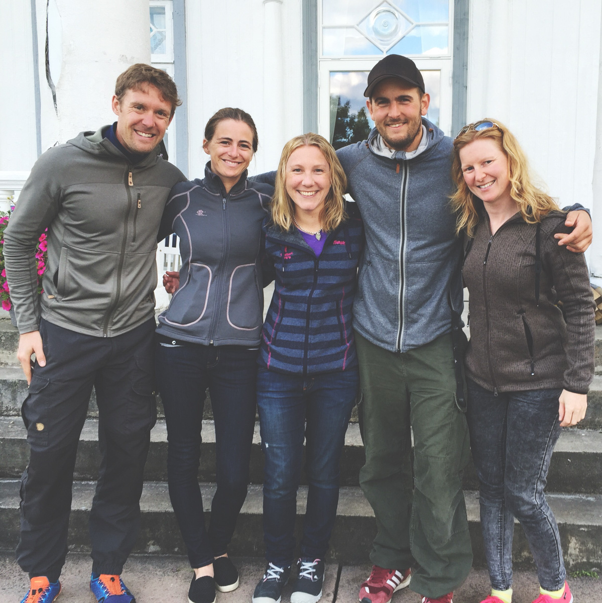 Me, Elin, Kjersti, Matias, & Anne. Happy to be back at Hurdal Verk!