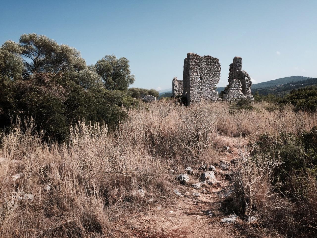 Old church ruins, Fiskardo
