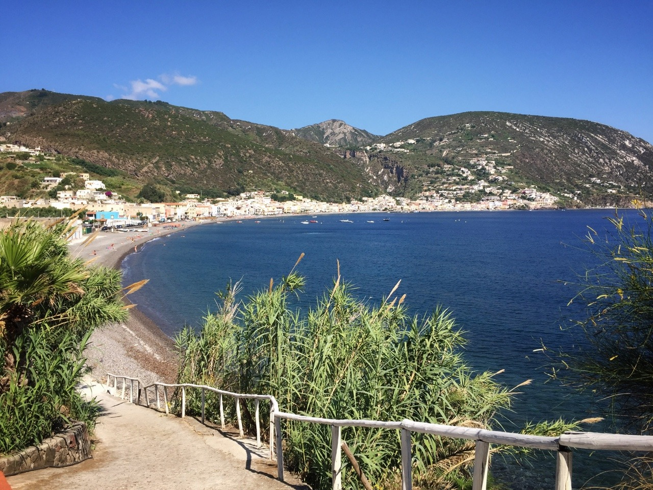Canneto, on the eastern shore north of Lipari town.