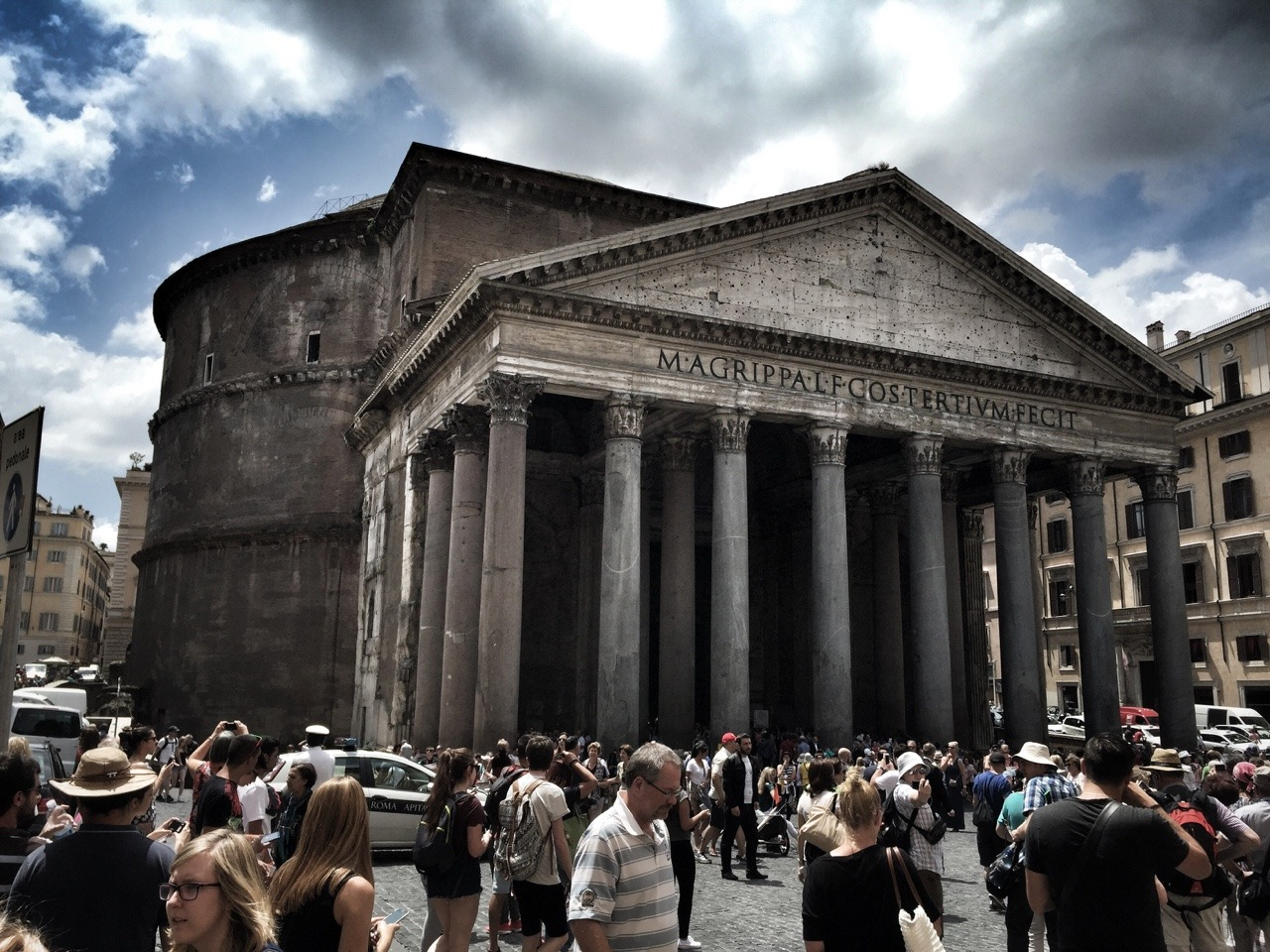 Behold, The Pantheon!