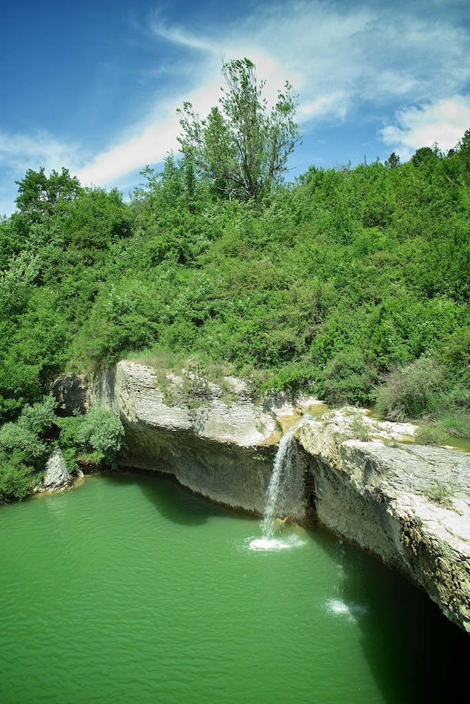 Waterfalls, Pazin, Croatia