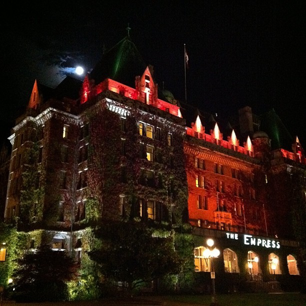 Taken with  Instagram  at The Fairmont Empress Hotel