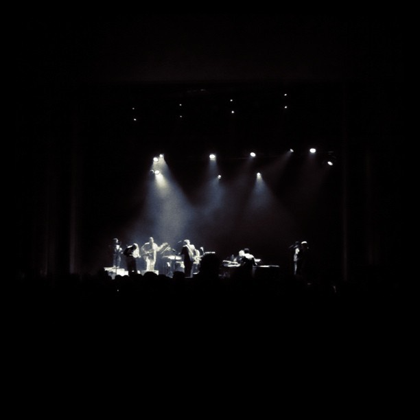Iron & Wine… apparently (Taken with  Instagram  at Vogue Theatre)