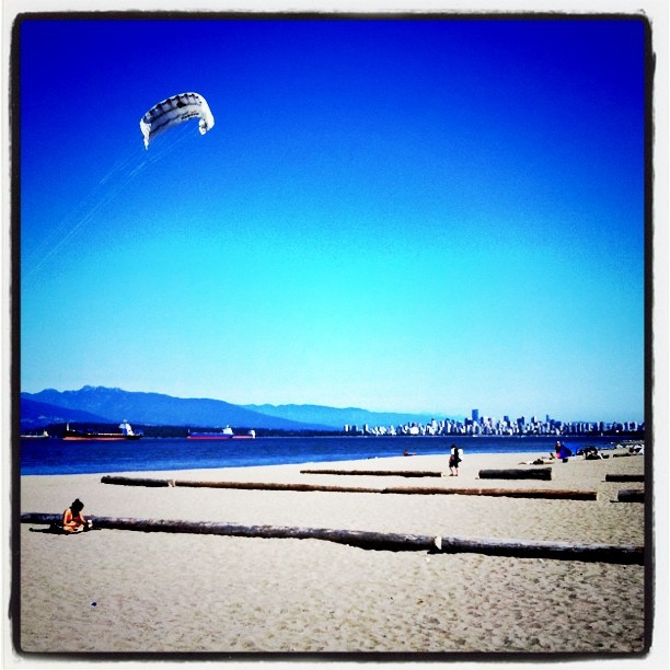 Spanish Banks Beach (Taken with  Instagram  at Spanish Bank West)