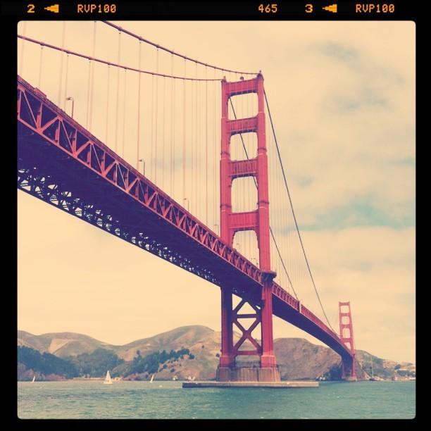 International Orange (Taken with  Instagram  at Golden Gate Bridge)