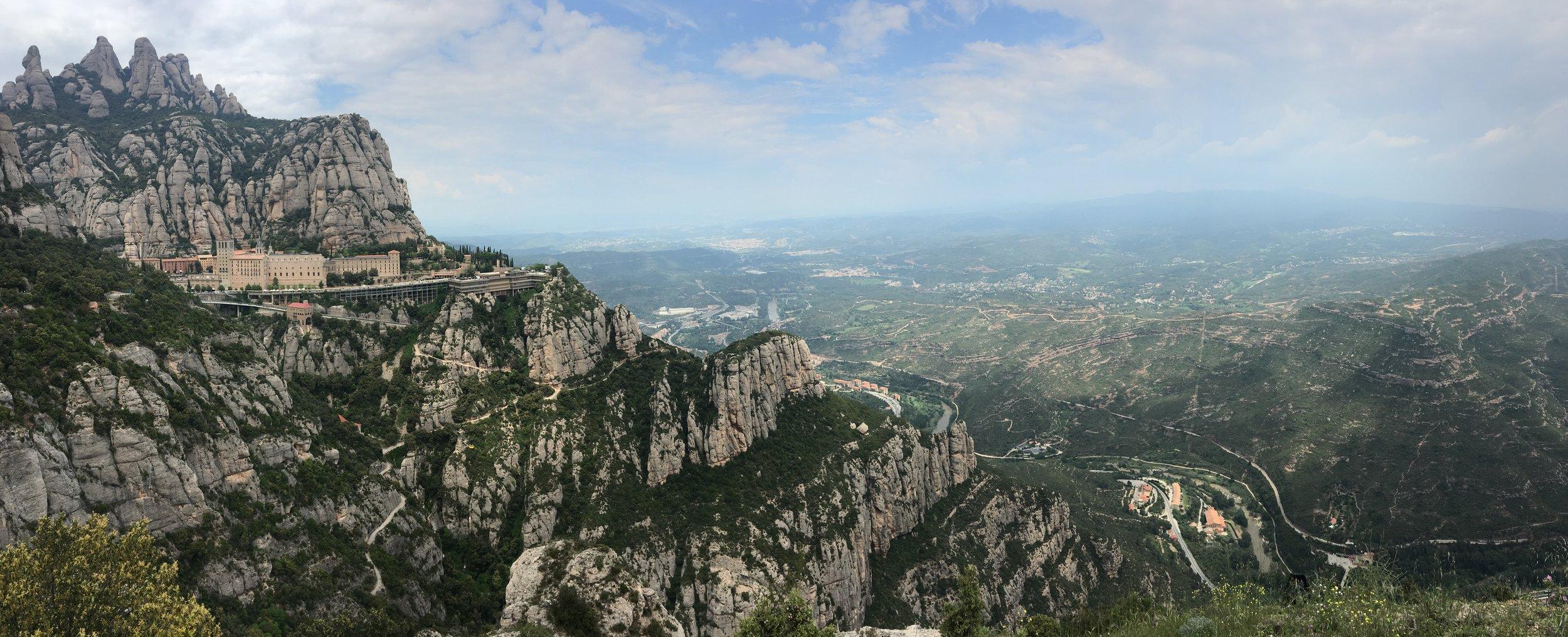 The Monastery on Montserrat