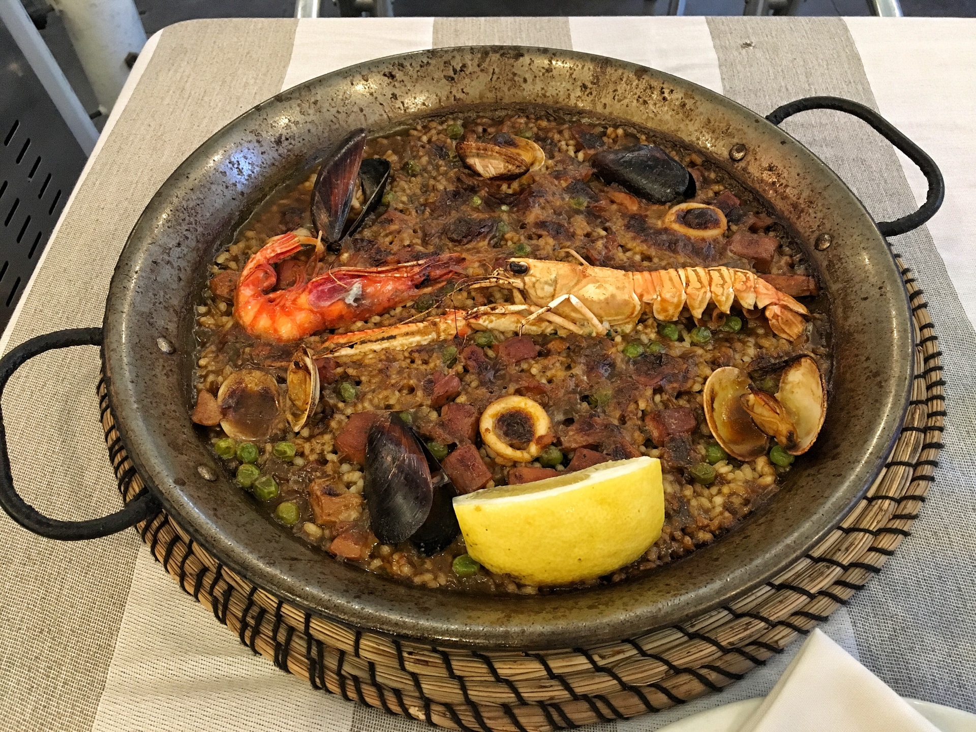 Paella at its finest.