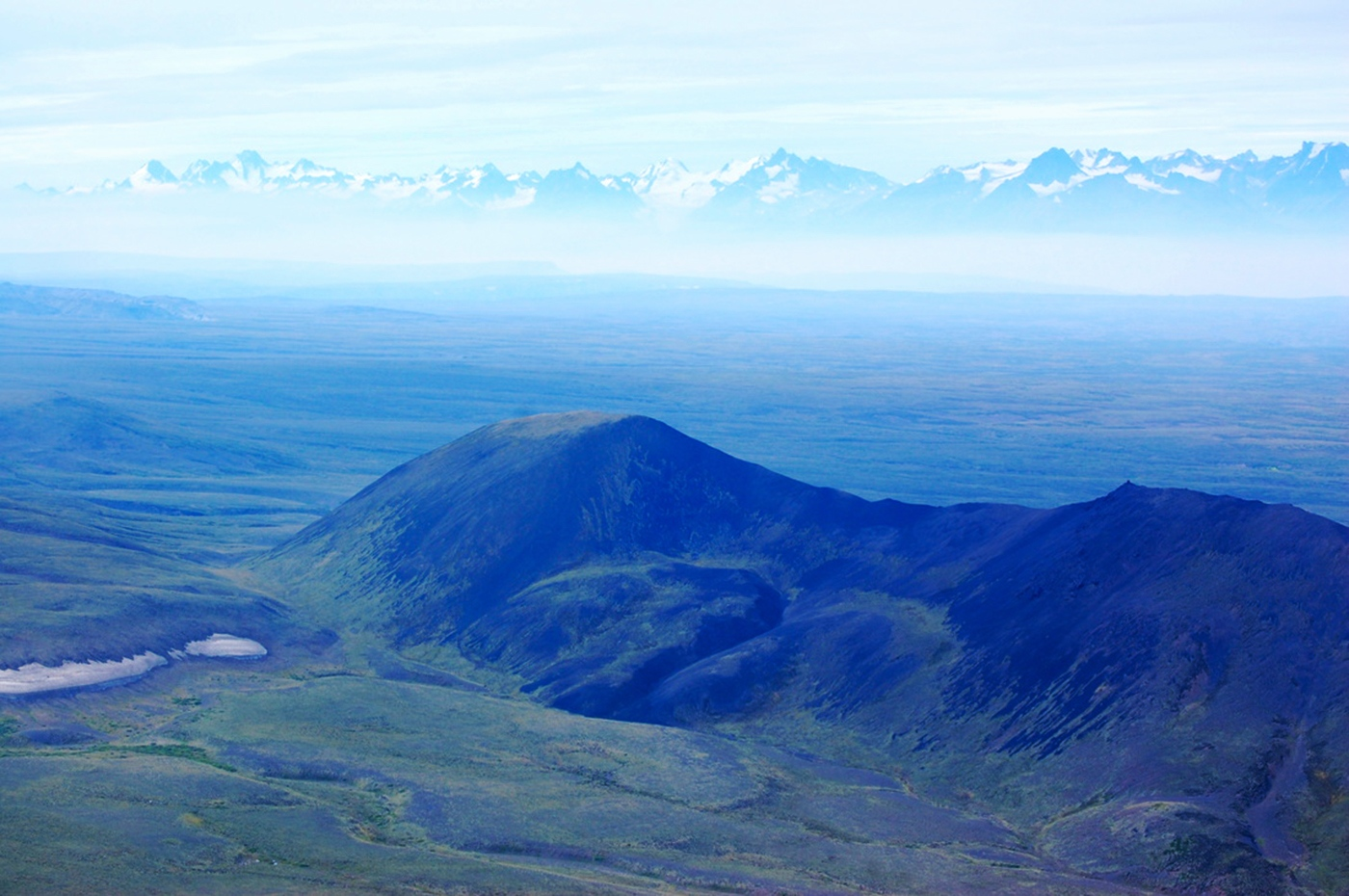 The spectacular landscape of the Tahltan Nation is home to wolves, grizzly bears and caribou. Curtis Rattray photo