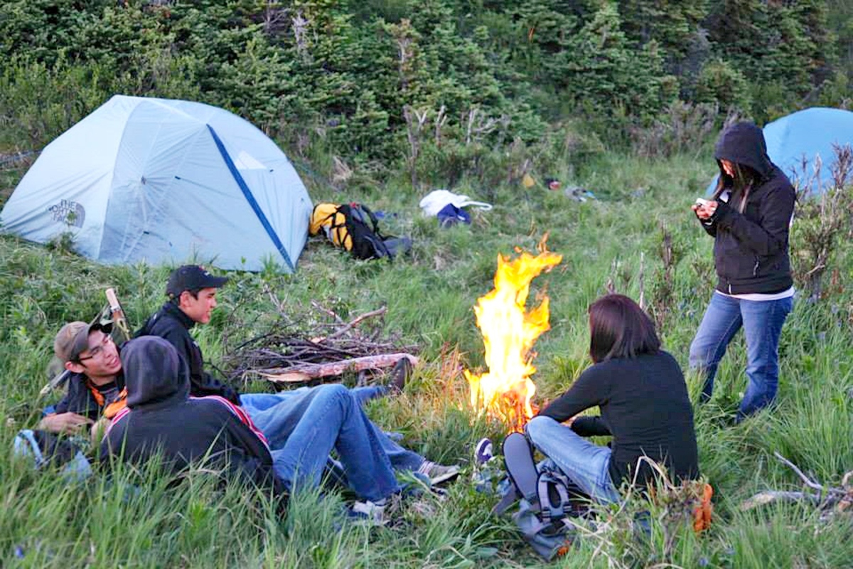 On the Land participants will gather round campfires, sleep in tents and gain a sense of connection to the land. Curtis Rattray photo