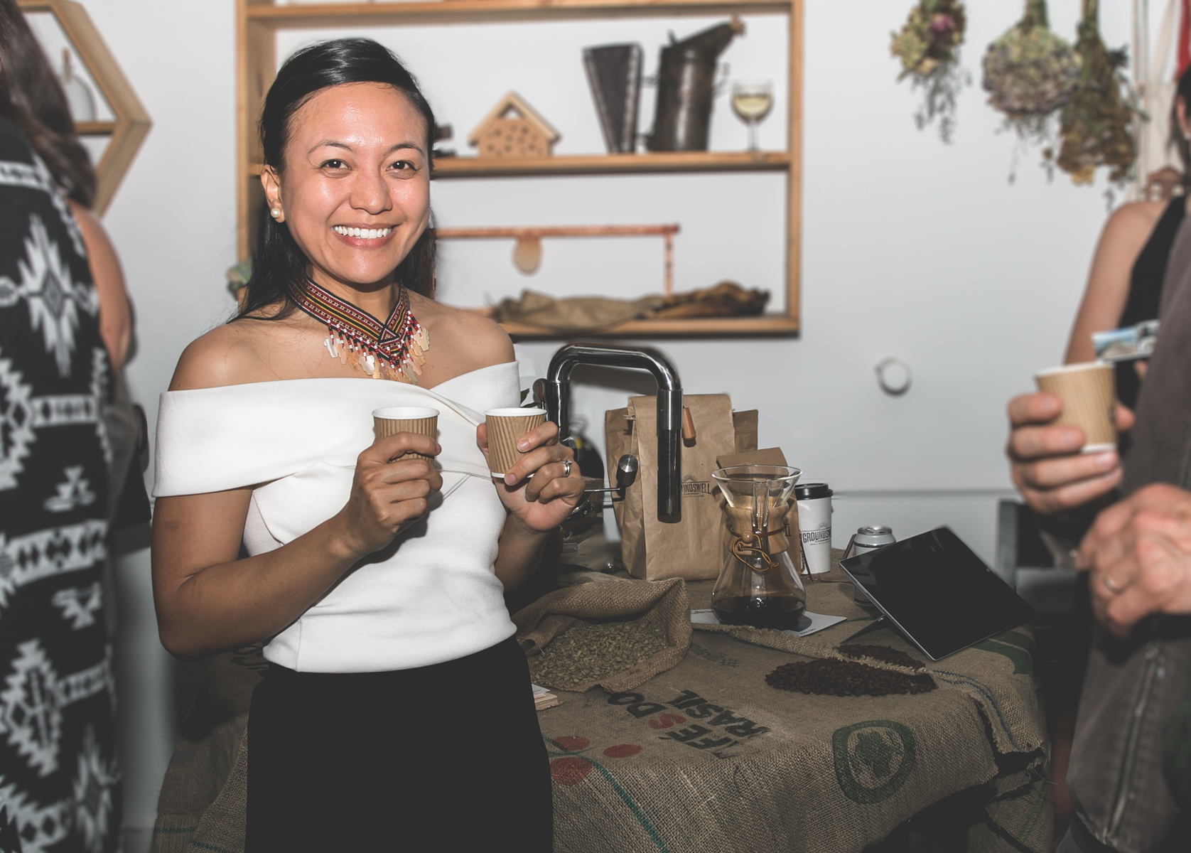 Kapé Philippine Coffee - Iona Fresnoza's social enterprise promotes sustainable Vancouver-roasted coffee that's ethically sourced from indigenous farmers in the Philippines.