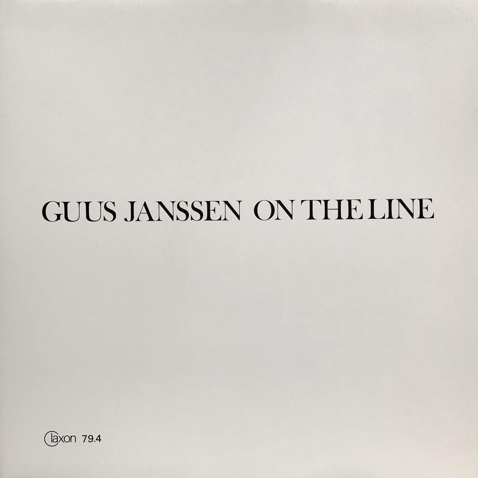 Guus Janssen On the Line