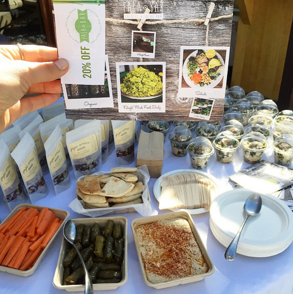 Fala Bar Catering products