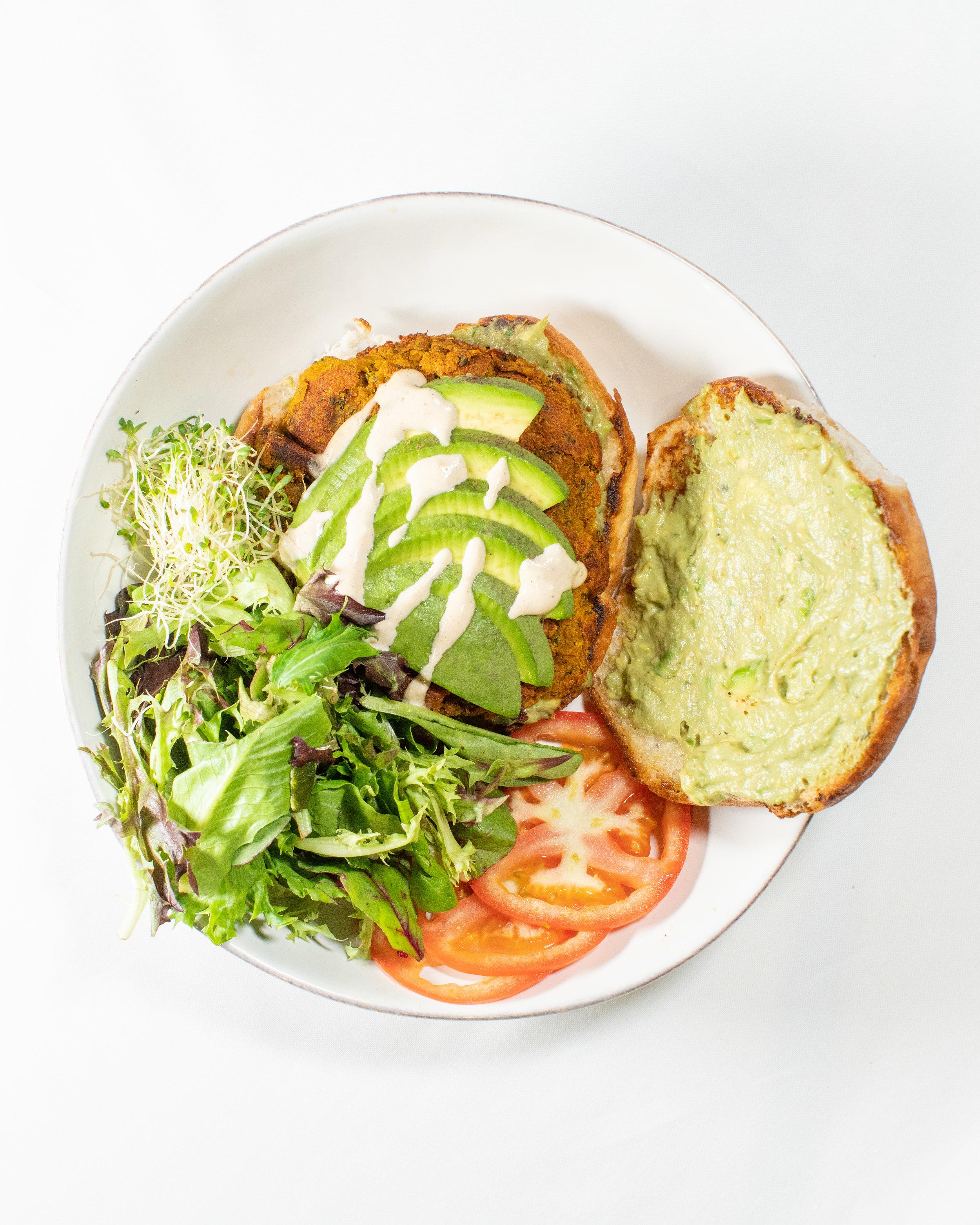 Fala Bar Avocado Burger