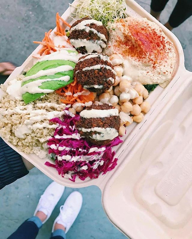 Your week just got a whole lot more delicious. Enjoy lunch from @falabar at #WestfieldCenturyCity for $1.00 from now through Friday, May 10 when you use Apple Pay. Visit www.ritual.co to place your order. #eatsweek cc @ritual_co Ph: @hannahcalton
