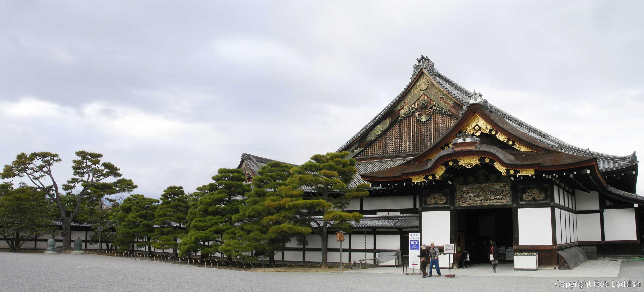 2005_1130_14.29d. Panorama of Nijo Castle Entrance (2 pics).jpg