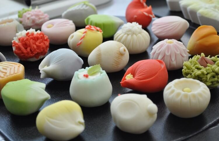 wagashi sweets kyoto