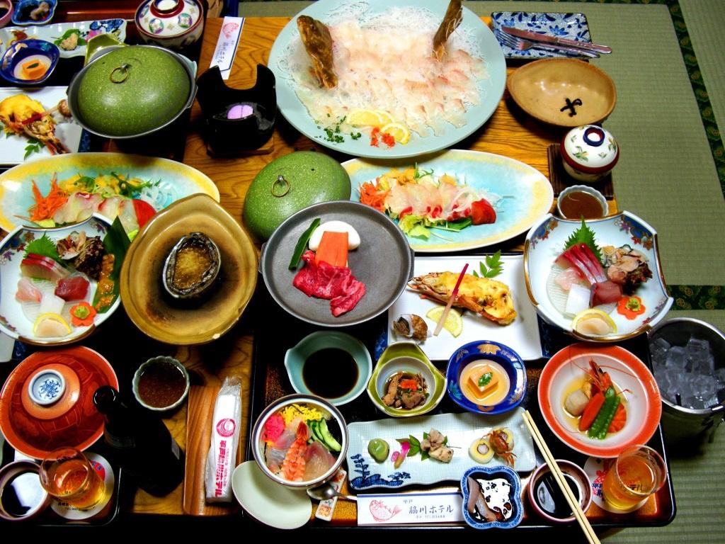 ryokan dinner japan