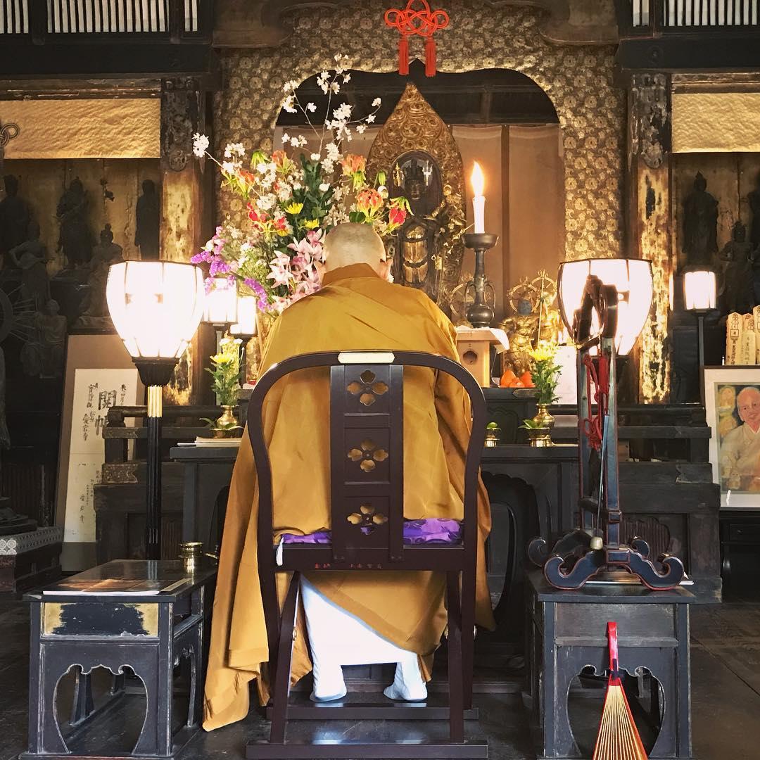 otagi nenbutsuji altar arashiyama