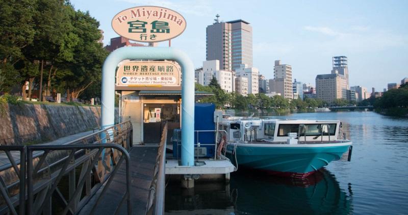 high speed ferry miyajima