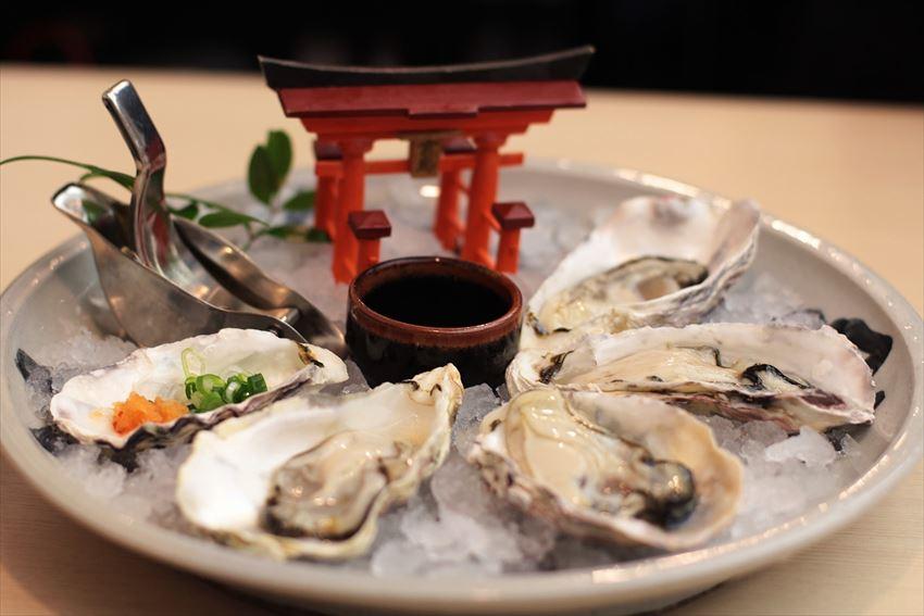 miyajima oysters