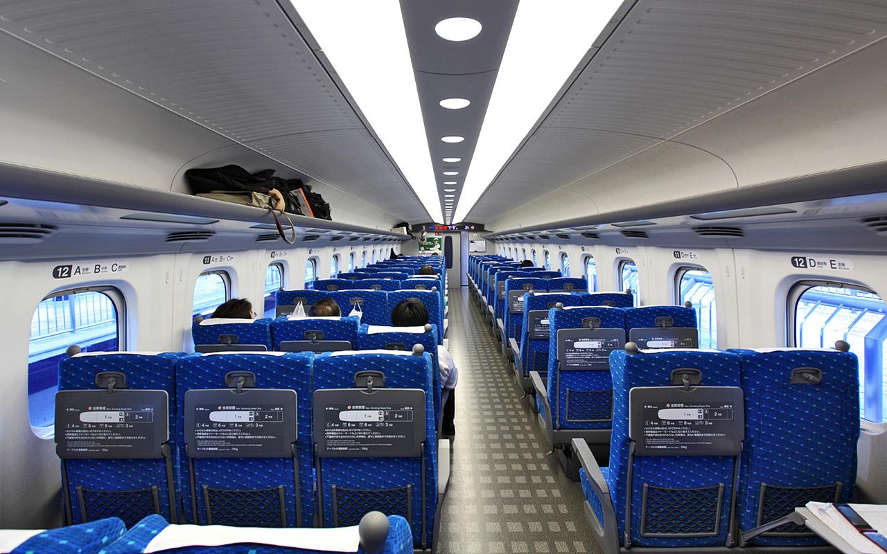 bullet train regular car