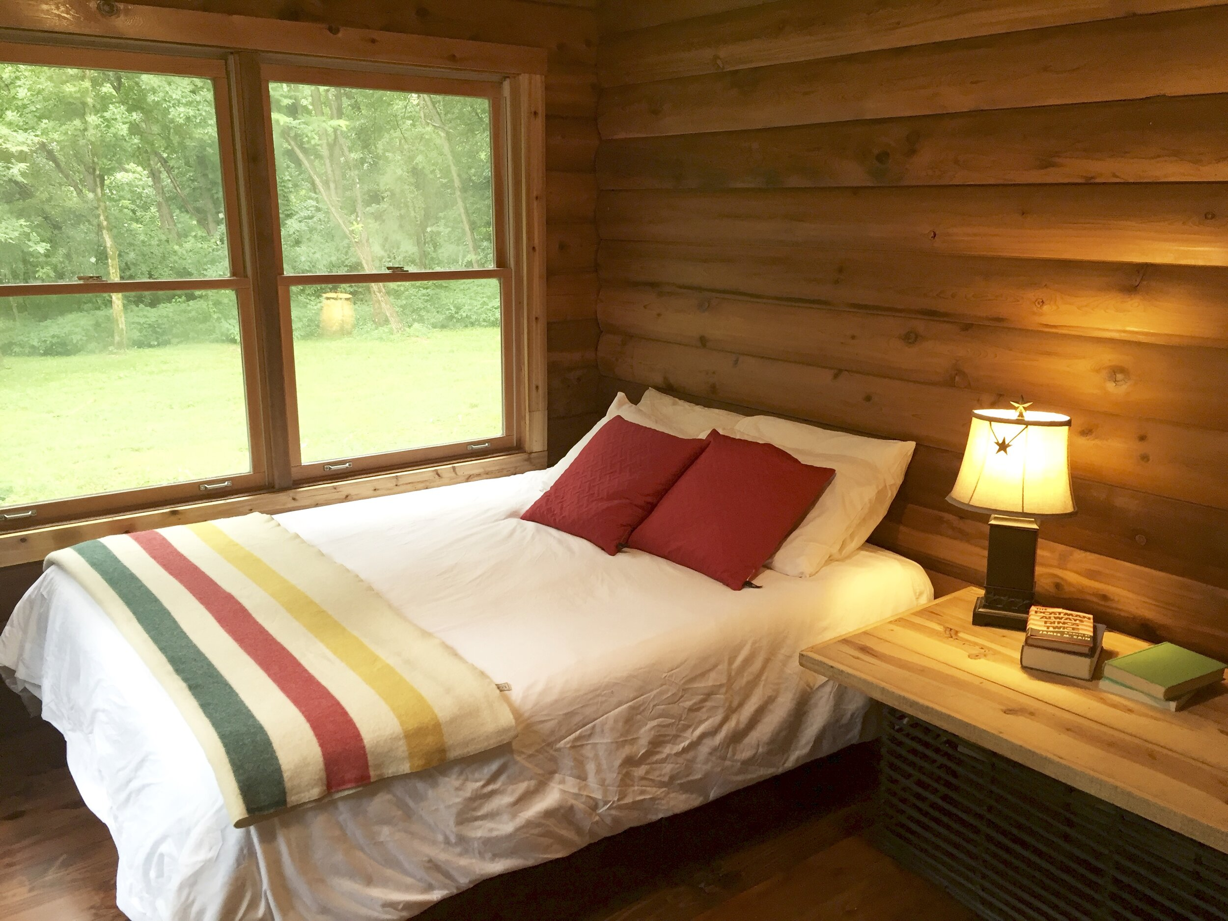 Log cabin private room