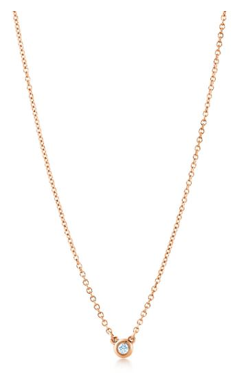 Tiffany Diamonds by the Yard in Rose Gold