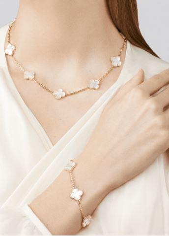 Van Cleef & Arpels Bracelet and Necklace