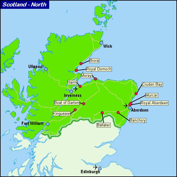 Scotland Highland Golf Courses