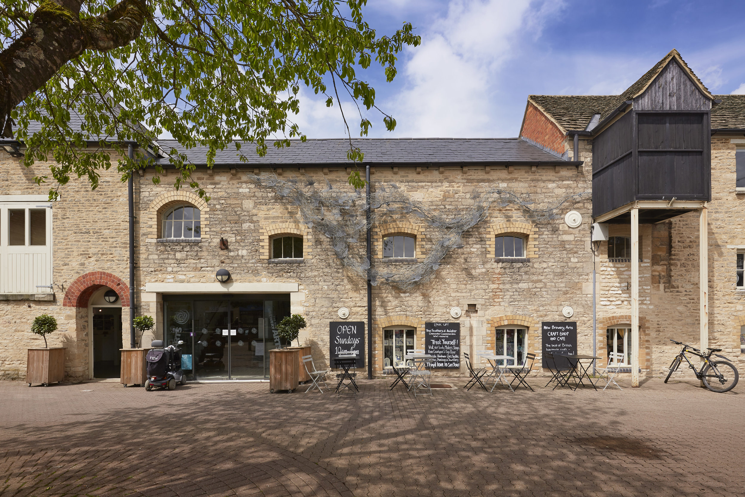 New Brewery Arts in Brewery Court, Cirencester