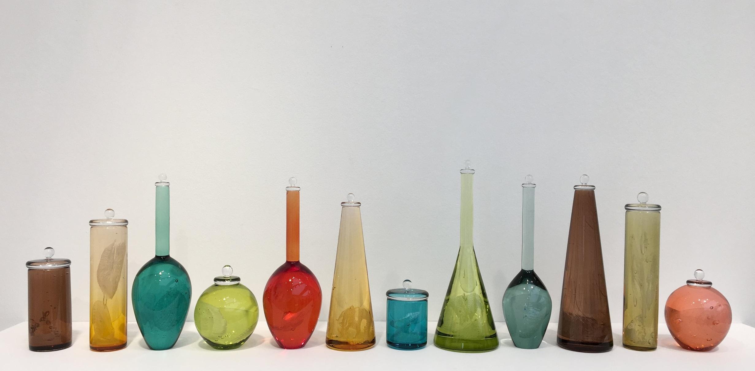 Louis Thompson ,  Sigmund Freud's Dream Archive: Case Studies . Freeblown glass.