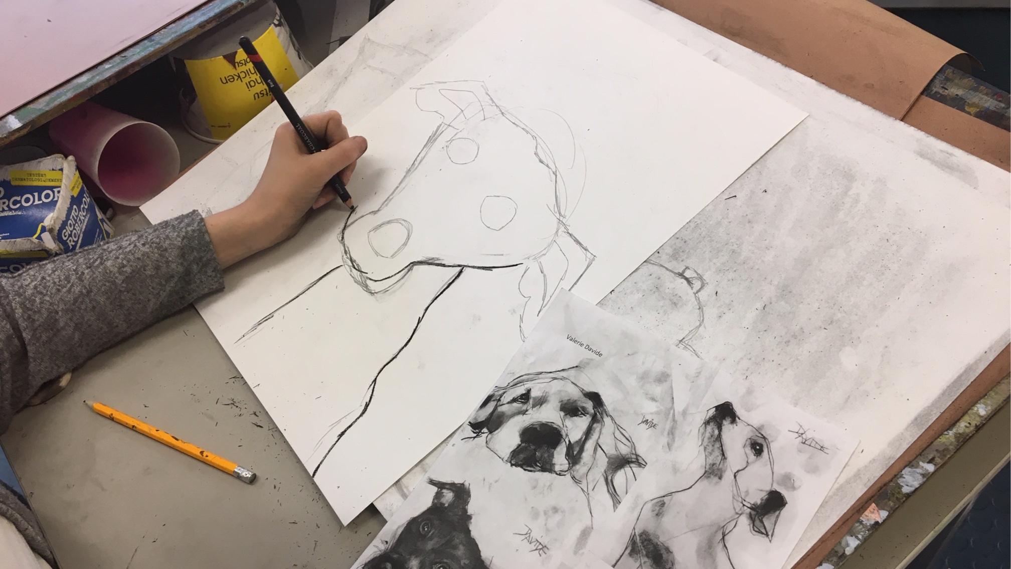 Teen Drawing Workshop